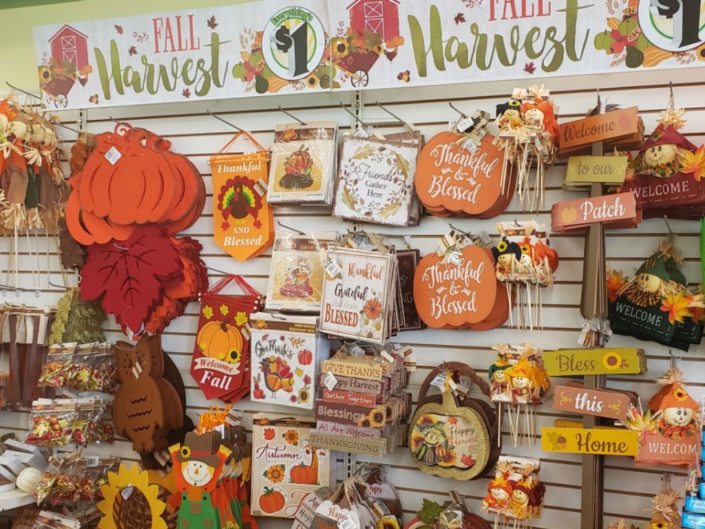 Our 112 Favorite Dollar Tree Fall Decor Items - Hip12Save