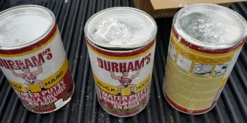 Donald Durham's Rock Hard Water Putty Just $1.96 | Fills Gaps in All Surfaces