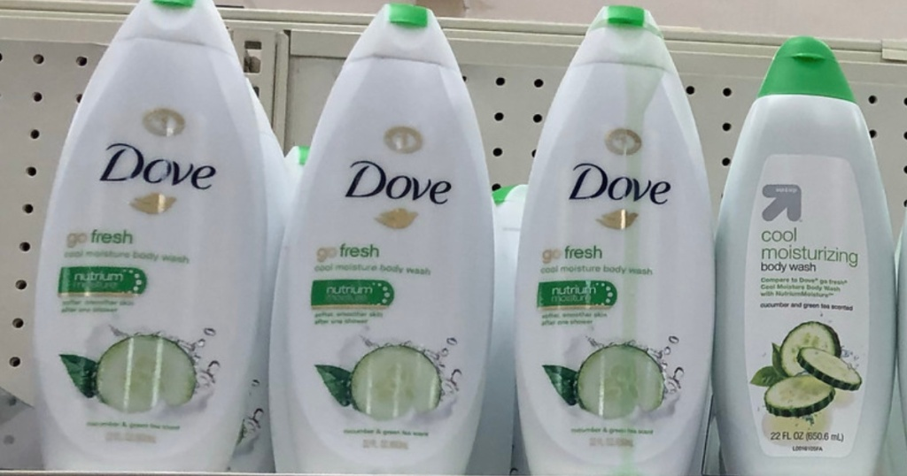 Dove Go Fresh Body Wash