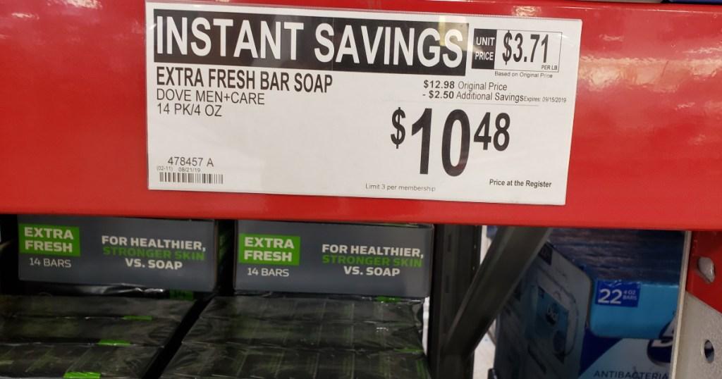 Dove Men plus Care Soap