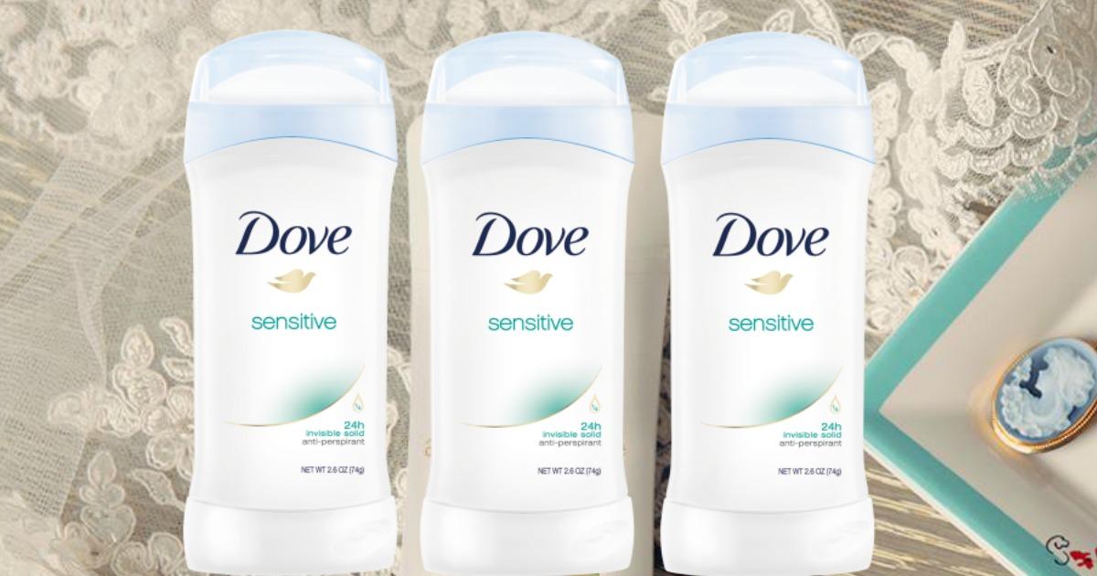 Dove Sensitive Skin Deodorant