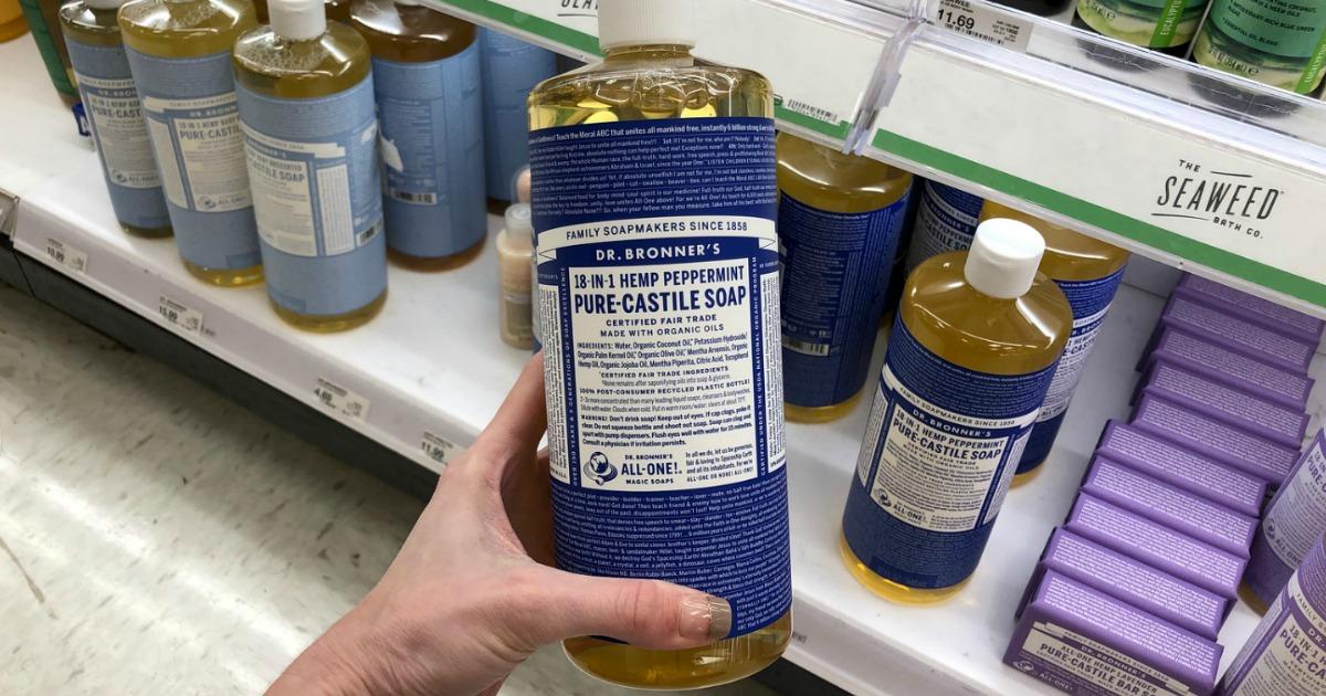 Dr. Bronner's Pure-Castile Soap
