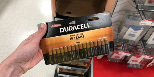 FREE Duracell Batteries After Office Depot Rewards | 16 or 24-Count Packs