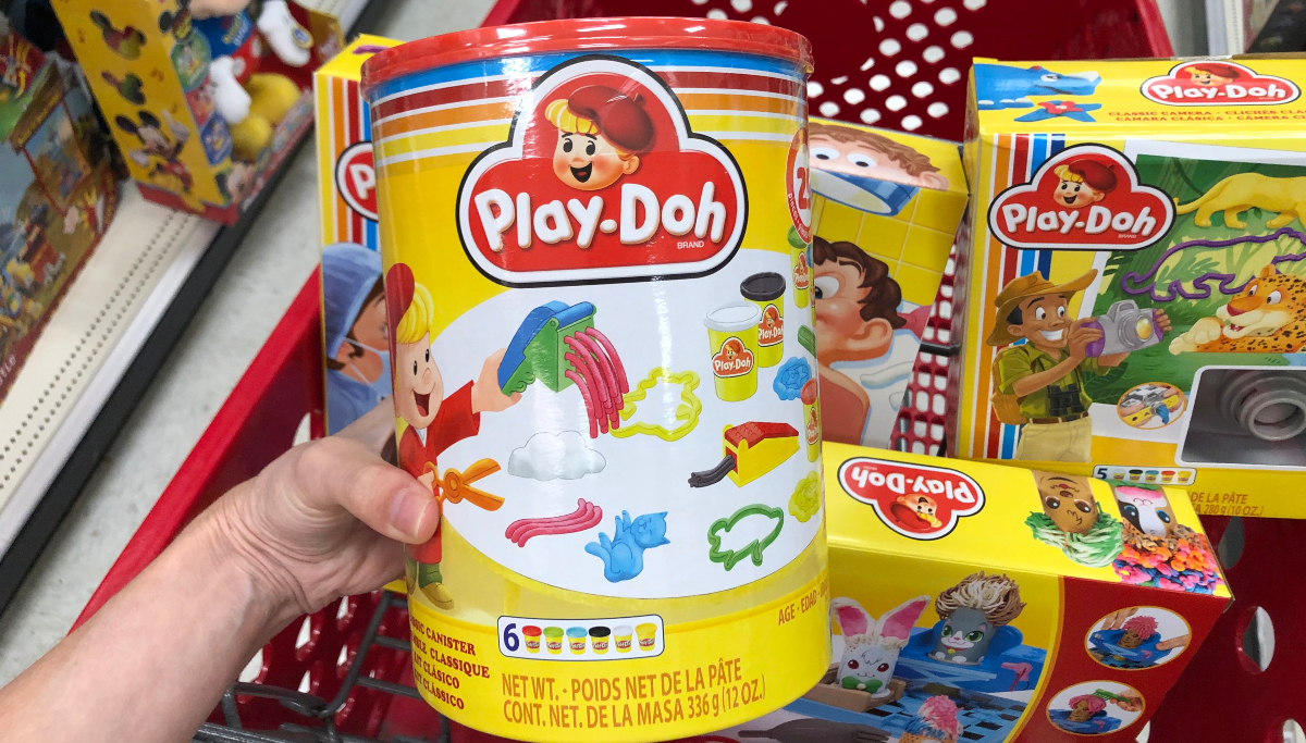 Play-Doh retro canister at Target