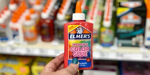 30% Off Elmer's Color & Transparent Glues at Target | In-Store & Online