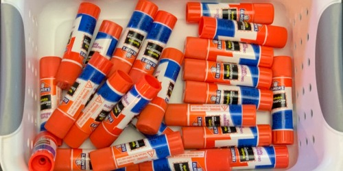 Elmer's All Purpose Glue Sticks 30-Pack Only $5.50 Shipped (Just 18¢ Each)