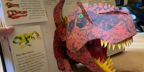 Encyclopedia Prehistorica Dinosaurs Pop-Up Hardcover Book Just $18.33 (Regularly $40)