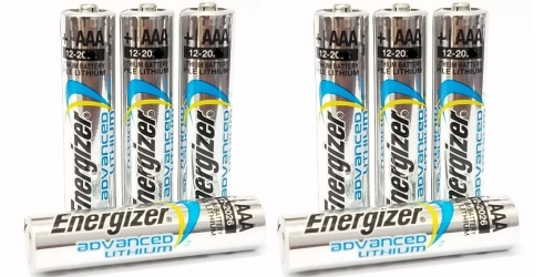 Energizer Advanced Lithium Batteries 20-Pack Only $16.99 (Regularly $30)