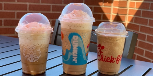 Starbucks, Chick-fil-A or Dunkin': Who Has the Best Frozen Caramel Coffee?