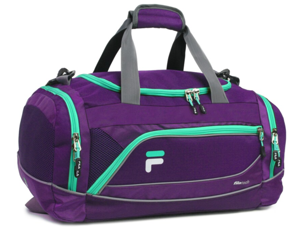 FILA Sprinter Duffel Bag Purple