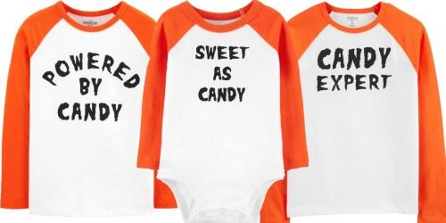 $100 Worth of OshKosh B'Gosh Matching Family Halloween Tees Just $36 Shipped