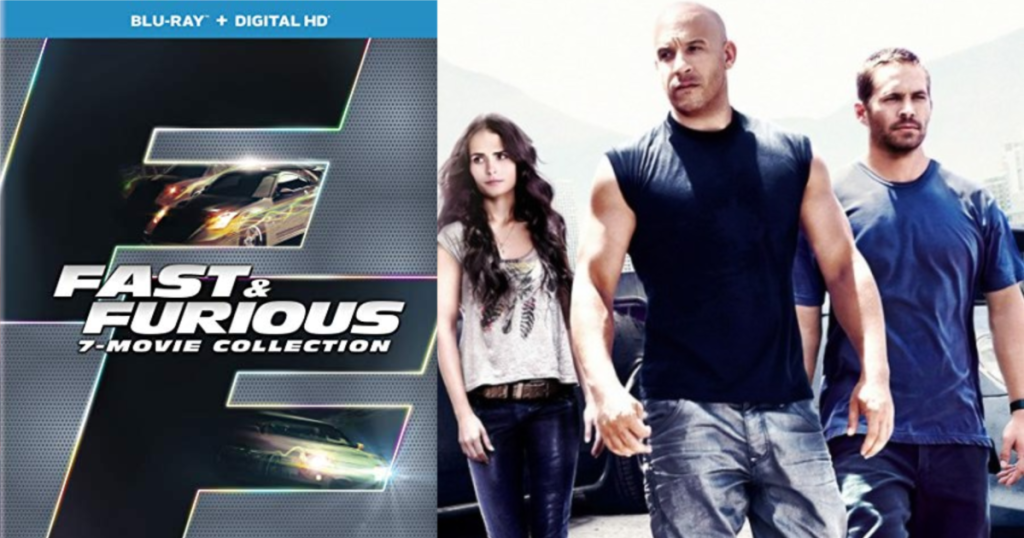 Fast & Furious 7-Movie Collection Blu-Ray + Digital HD
