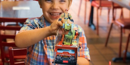 FREE Fisher-Price Rescue Heroes Fire Truck w/ Kids Combo Purchase at Firehouse Subs