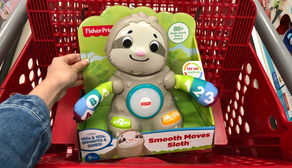 Fisher Price Smooth Moves Sloth in cart
