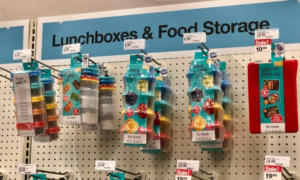 Fit Fresh Lunchbox Storage Options at Target