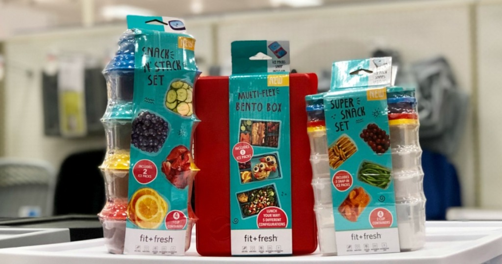 Fit Fresh Snack Containers at Target