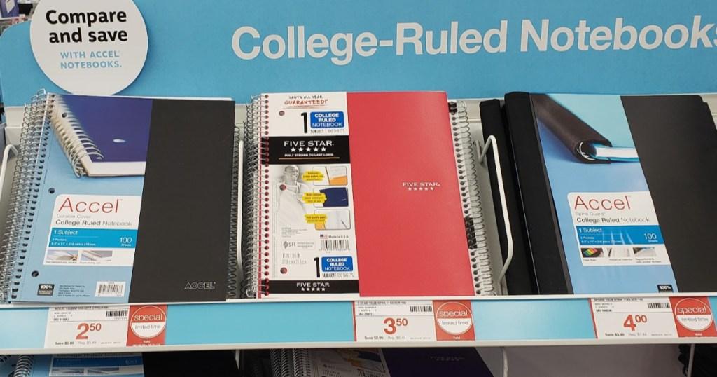 Five Star Notebooks