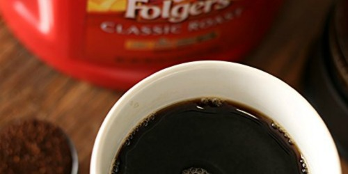Folgers Ground Coffee Large Container Only $4.79 Shipped