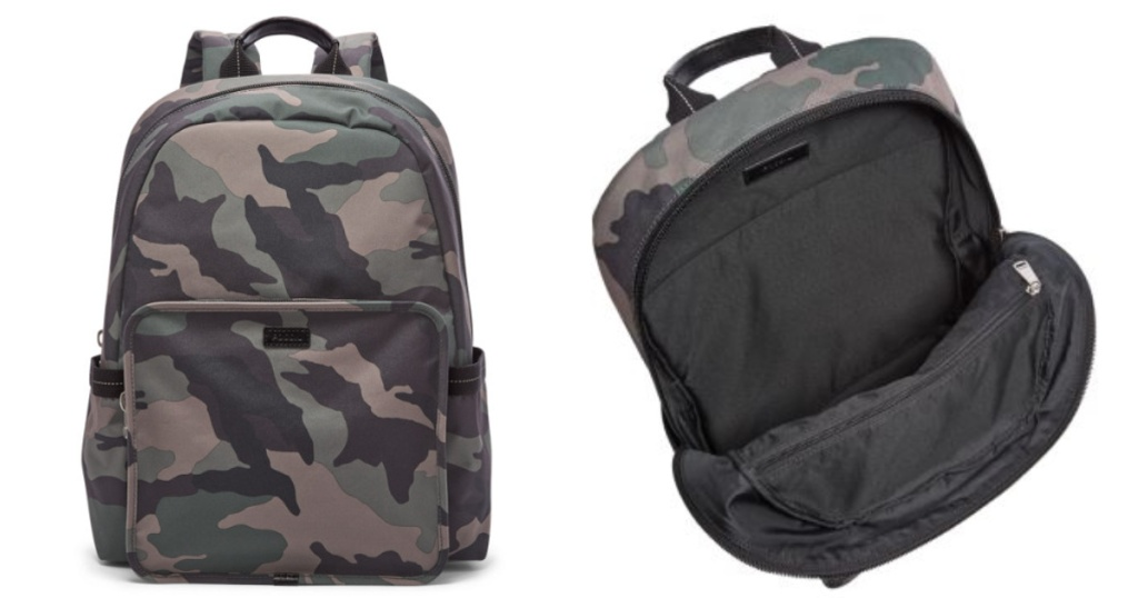 camo fossil backpack
