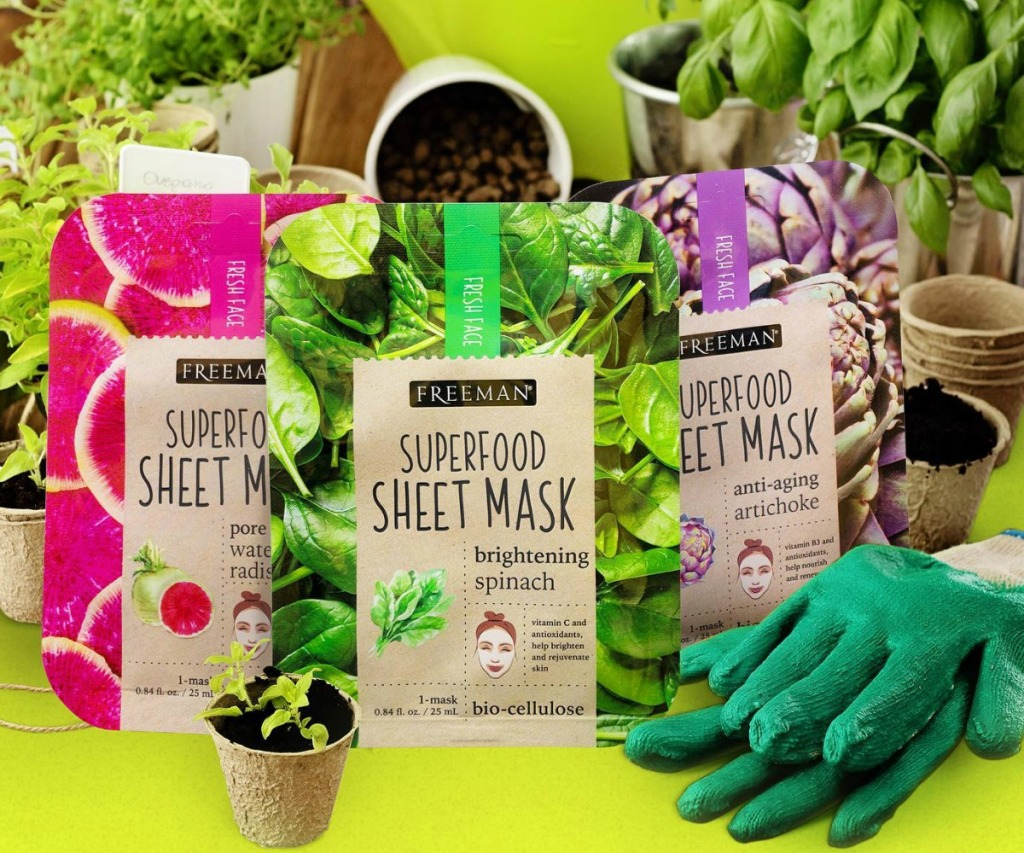 Freeman Beauty SuperFoods facial masks