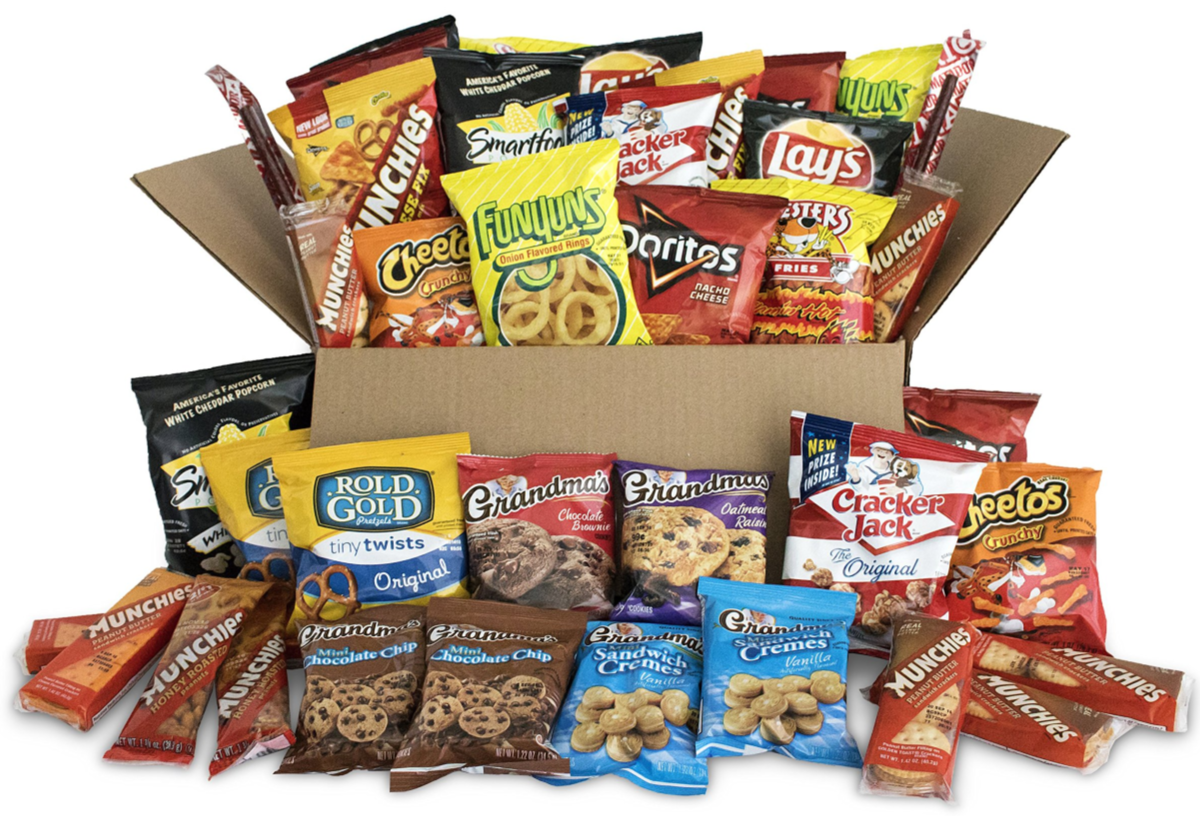 Frito-Lay 40-Pack Ultimate Snack Care Package