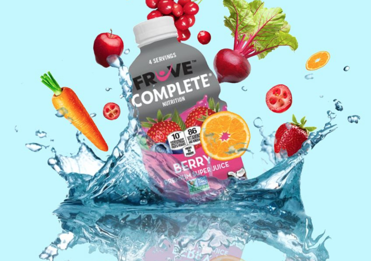 FREE Fruve Complete Beverage Coupon