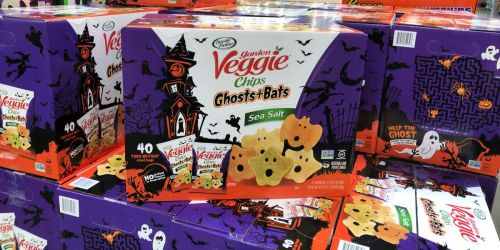 Garden Veggie Ghost and Bats Veggie Snacks 40-Count Only $11.98 at Sam's Club