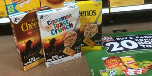 Kroger's 2-Day Sale (99¢ General Mills Cereals, $7 Backpack Sets, & More)