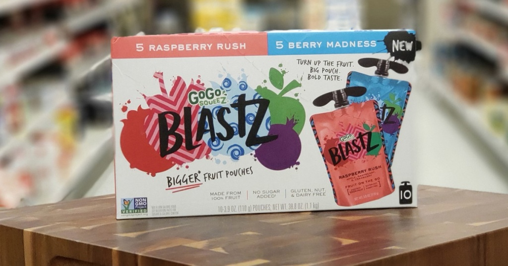 Gogo Squeeze blasts at target