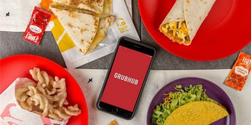 $50 GrubHub eGift Card + $10 Amazon Credit Only $50 + More Gift Card Deals