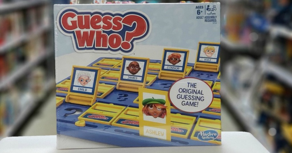 Guess Who game box in-store