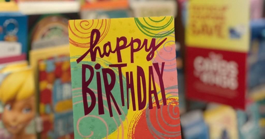 hallmark happy birthday card