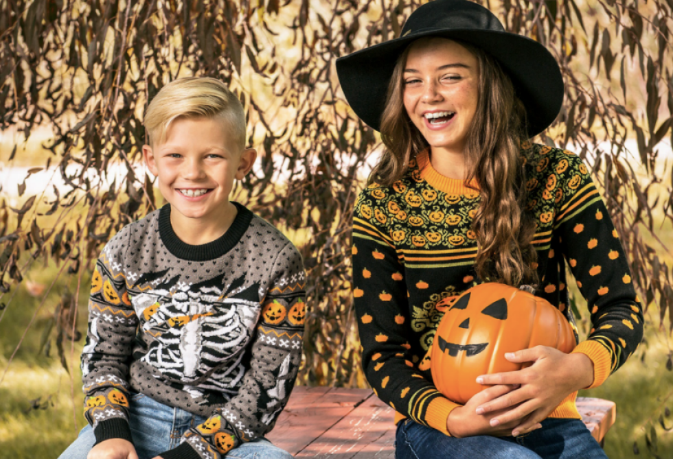 Halloween Kids Ugly Sweaters