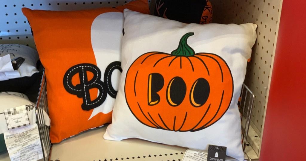 halloween throw pillows at target
