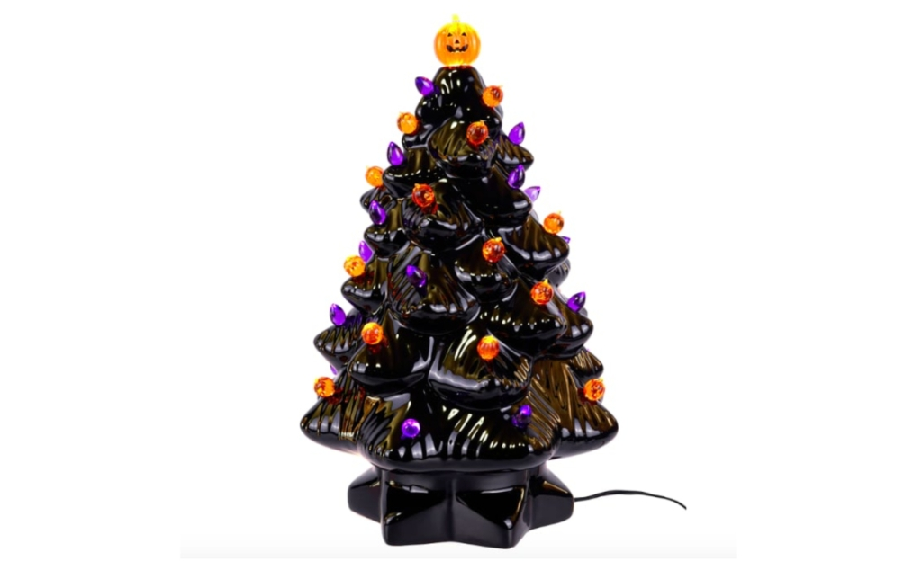 Halloween ceramic tree from Michael's