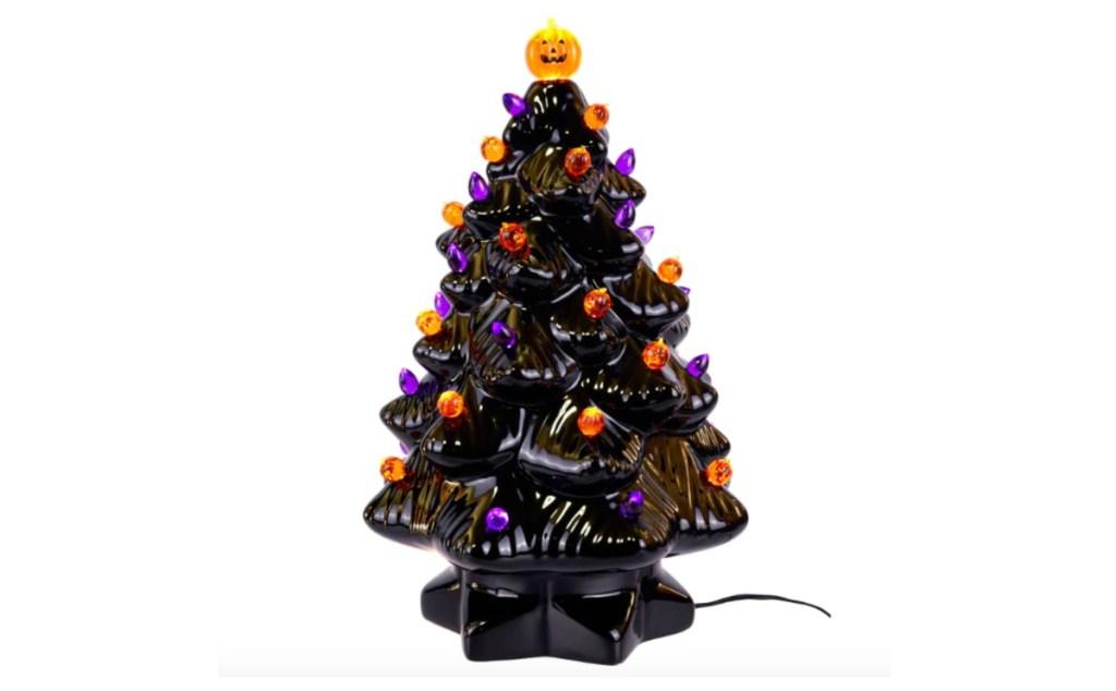 Michael S Spooky Ceramic Light Up Halloween Tree Is Here