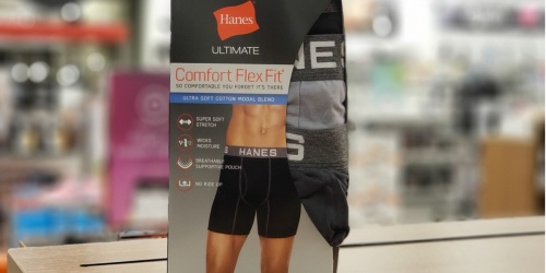 50% Off Hanes Tees for the Family + Free Men's Boxer Briefs & Free Shipping