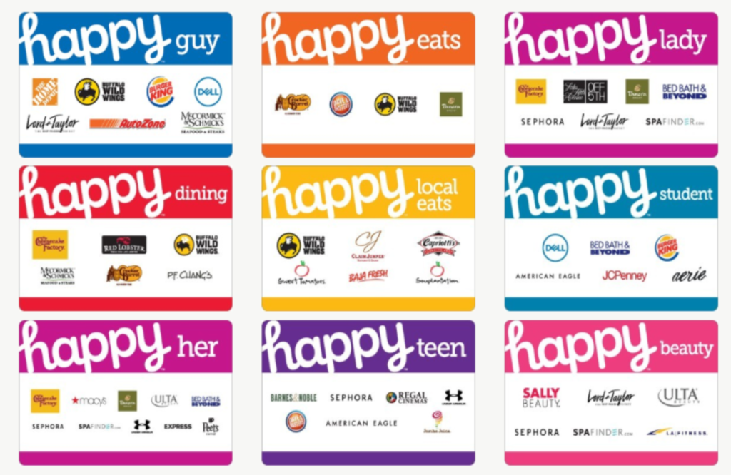 $50 Happy Gift Cards Only $45 Shipped + Get 4x Kroger ...Happy Gift Cards.com