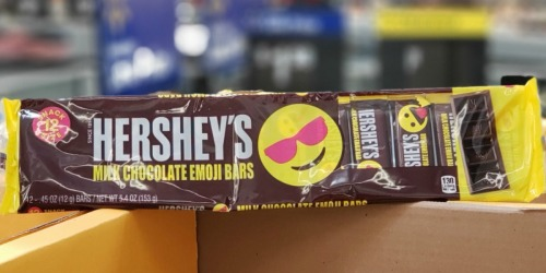 Hershey's Milk Chocolate Emoji Bars Spotted at Walmart   How You Can Win an Entire Box