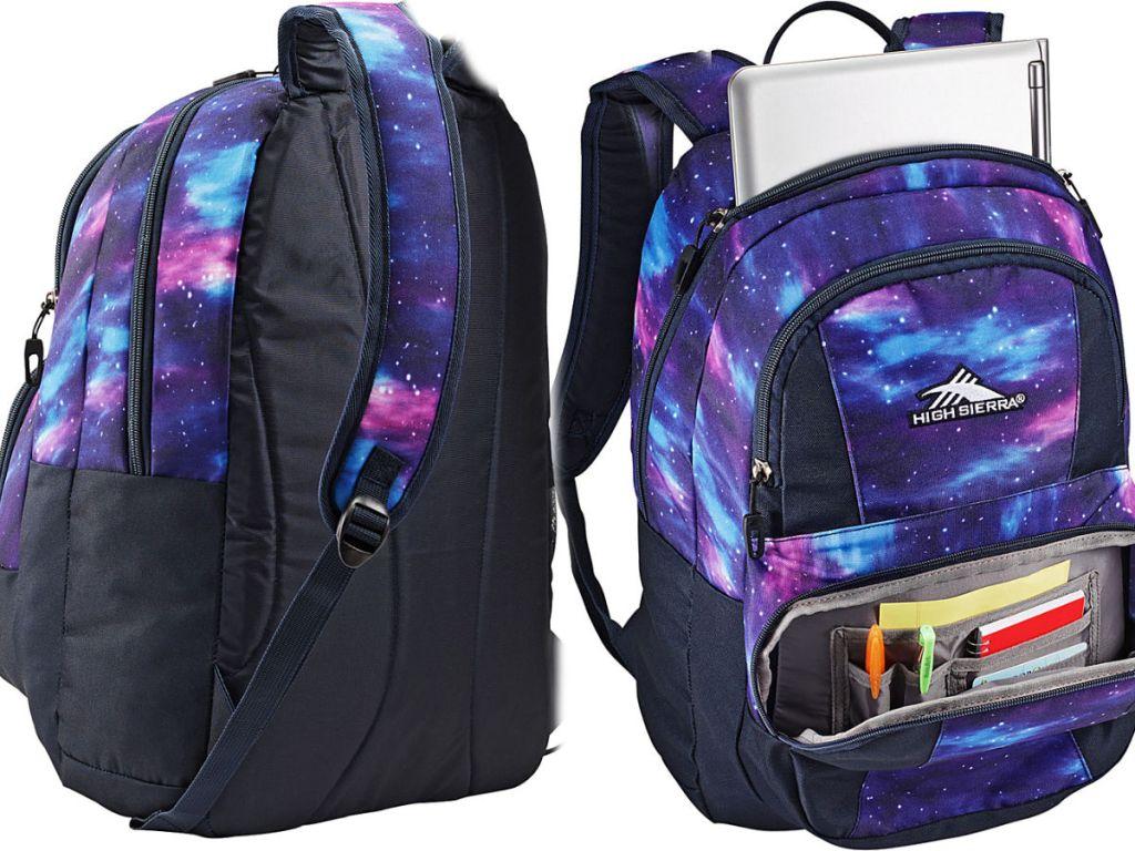 High Sierra Pinova Backpack in cosmic