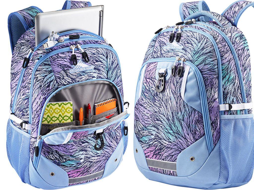 High Sierra Zestar Laptop Backpack in dreamsicle