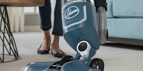 Hoover REACT Professional Pet Plus Bagless Vacuum Just $120.99 Shipped (Regularly $240)