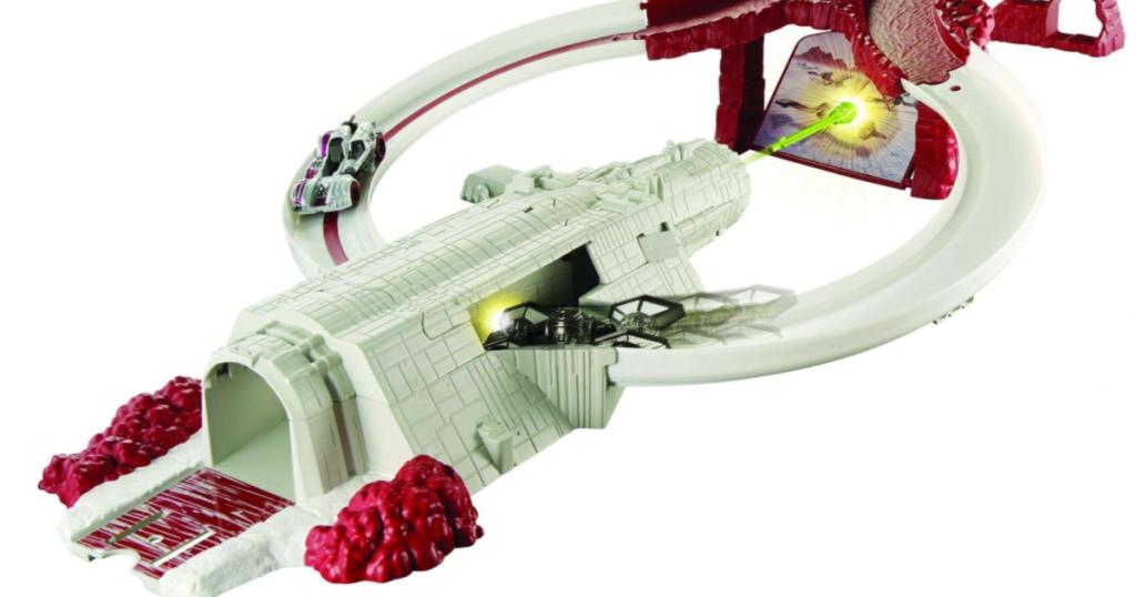 Hot Wheels Star Wars Crait Assault Raceway Track Set