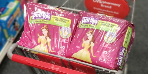 Huggies Pull-Ups Jumbo Packs Only $4.49 After Cash Back at CVS