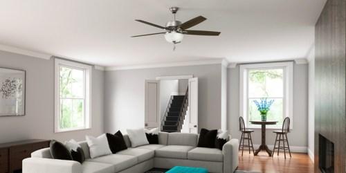 Hunter Ceiling Fan w/ Light Only $99.99 Shipped (Regularly $200)