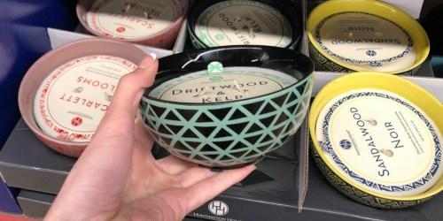 ALDI Decorative Bowl Candles Just $5.99