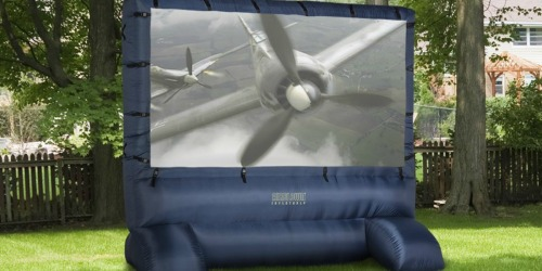 GIANT Inflatable Movie Screen w/ Storage Bag as Low as $119 Shipped on Amazon (Regularly $250)