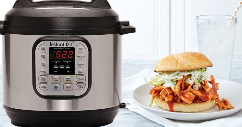 instant pot and sandwich