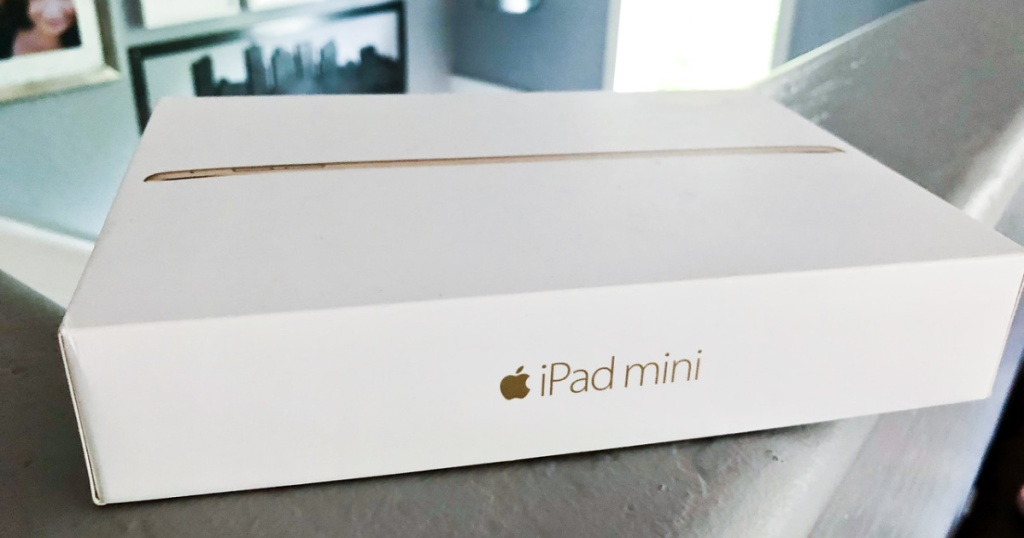 ipad mini box