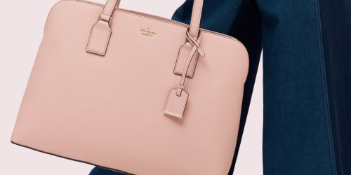 Kate Spade Handbag w/ Laptop Sleeve Only $149 Shipped (Regularly $398)